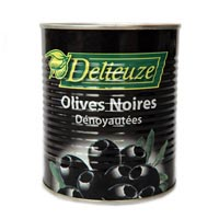 40722 - OLIVES BLACK PITTED 30 / 33