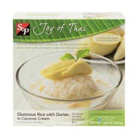 40197 - GLUTINIOUS RICE WITH DURIAN IN COCONUT CREAM