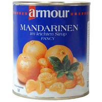41660 - MANDARINS IN LIGHT SYRUP
