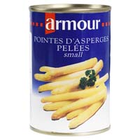 41685 - ASPARAGUS WHITE PEELED SMALL 32 / 42 PIECES