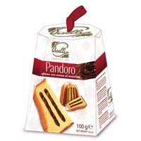 45775 - PANDORO MINI FILLED WITH CHOCOLATE CREAM