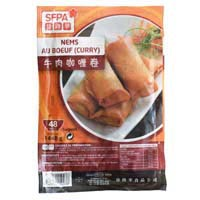 47359 - SPRING ROLLS BEEF CURRY