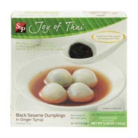 47666 - BLACK SESAME DUMPLINGS IN GINGER SYRUP