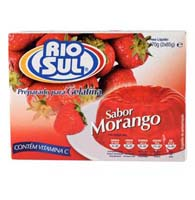 48378 - POWDER FOR STRAWBERRY-GELATINE